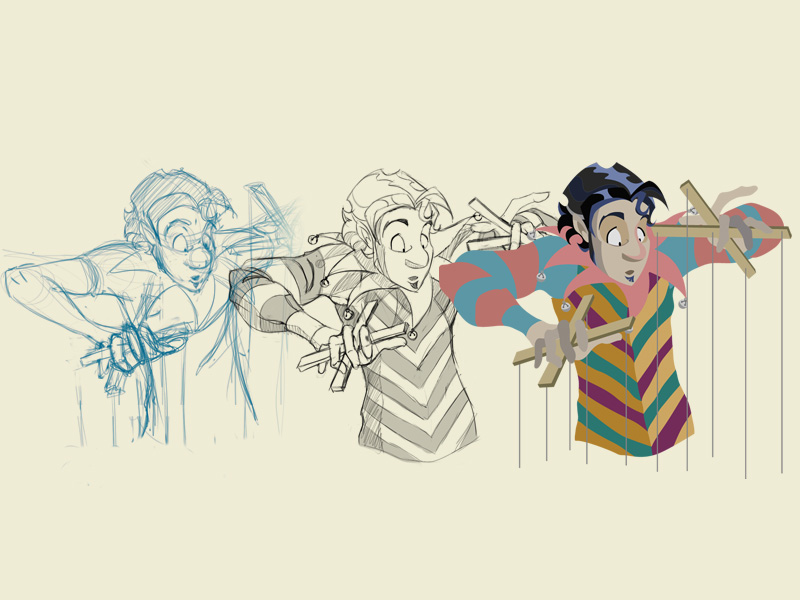 Cartoon Character Design Process : Illustration i am fernando sanzzi
